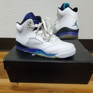 Jordan grape retro 5